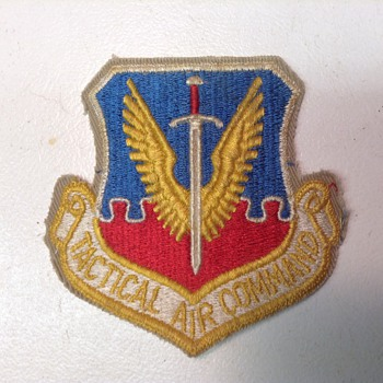 Tactical Air Command Patch - Military and Wartime