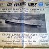 old newspaper.