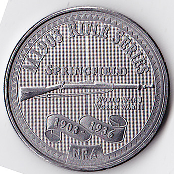 NRA Commerative Coin - US Coins