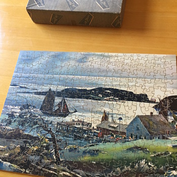 Wooden puzzle  - J.K. Straus - Games