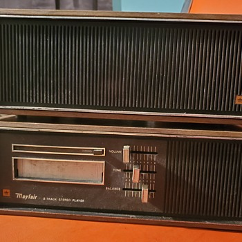 Mayfair 8 track player  - Electronics