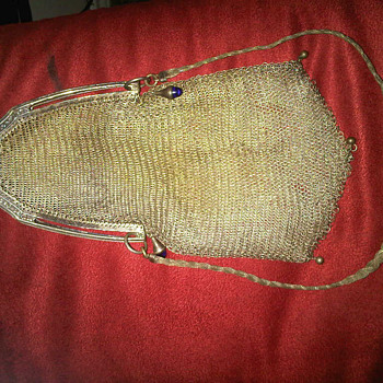 Whiting and Davis Mesh Bag - Victorian Era