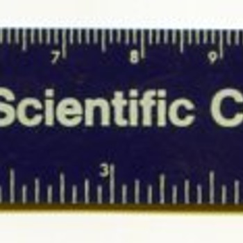 Fisher Scientific Company Ruler - Advertising