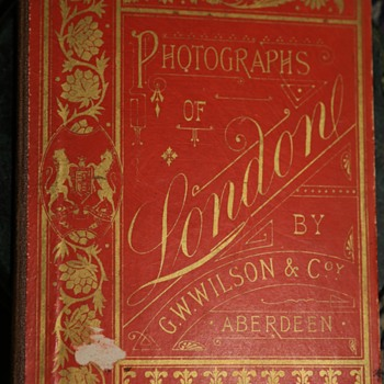 Photographs of London - 1880s