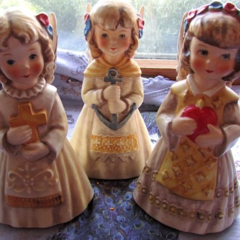 Set of Three Goebel Angels