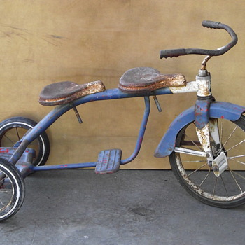 Hamilton Steel Products 2 seater tricycle