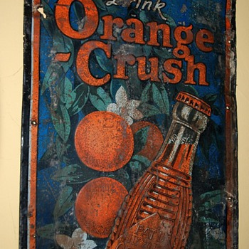 on with the orange crush theme... - Signs
