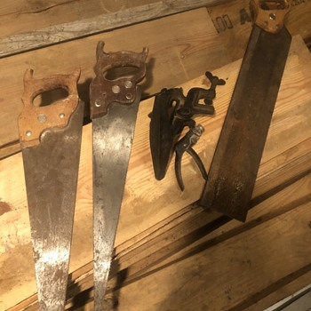 Hand saws  - Tools and Hardware