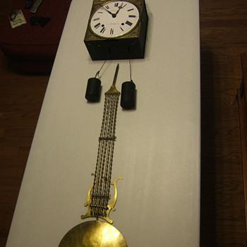 French Comptoise Wall Clock - Clocks