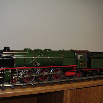 "Here are some of my ""O"" scale train collection. - Model Trains"