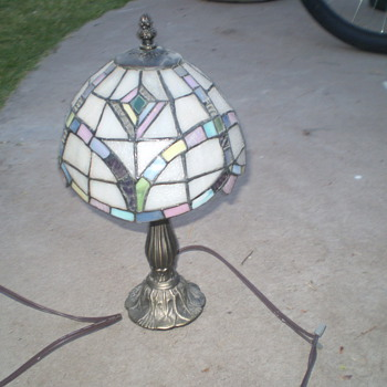 I hope this is Tiffany - Lamps