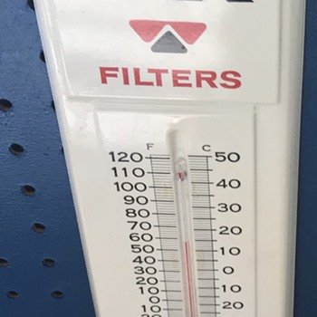 WIX Filters Thermometer. - Advertising
