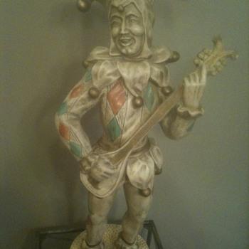1960 Universal Statuary Jester - Pottery