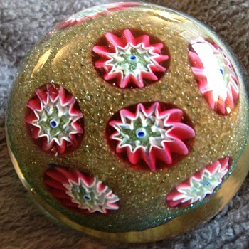Paperweight  - Art Glass