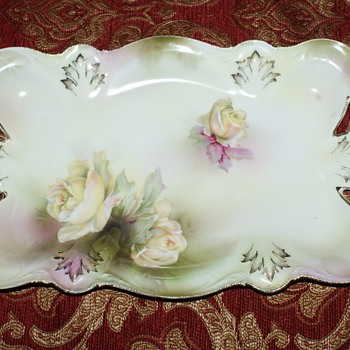 RS Prussia Tray - Mold 31 - China and Dinnerware