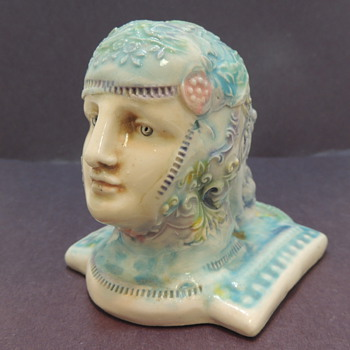 TACOMA - Art Deco Design Face - Pottery