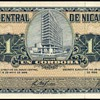 Nicaragua - (1) Cordoba Bank Note