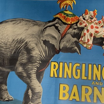 RINGLING BROS. AND BARNUM & BAILEY CIRCUS Poster 1945 - Posters and Prints