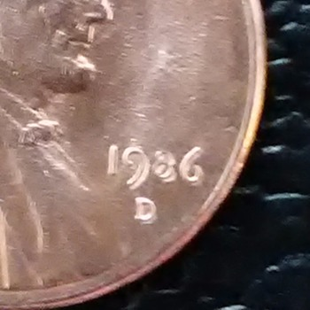 1986-D Double Date(9,8,6) - US Coins