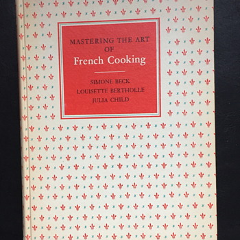 Mastering the art of French cooking book.