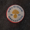 WWII Winnipeg Grenadiers Welcome Home Pin