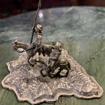 Don Quixote and Sancho Panza - Fine Art
