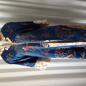 antique hand embroidered chinese jacket