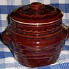 """Mar Crest Cook and Serve 7"""" Tall Bean Pot with Vented Lid"""