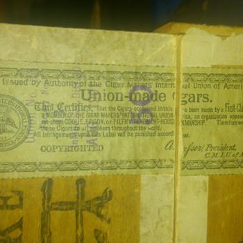 Cigar Box - Tobacciana
