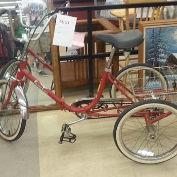 Vintage Worksman Trike