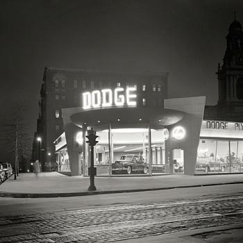 Neon lights of a bygone era.