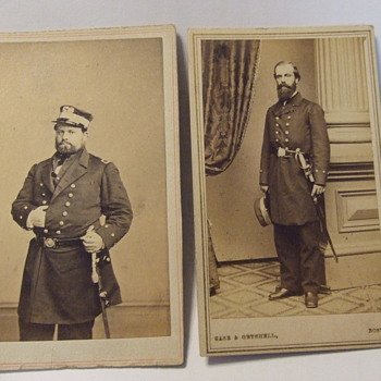 USN Civil War cdvs - Military and Wartime