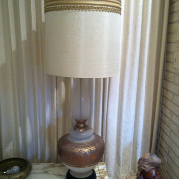 The 1960 Lamp my husband just broke.