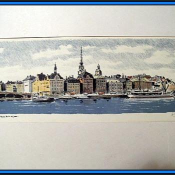 R. EVIKSSON  - Print -- 1964 OR 1969  - Fine Art