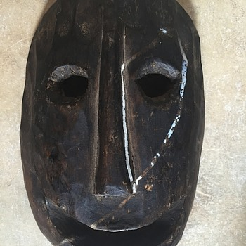 Can anyone help me identify this wooden tribal mask? - Fine Art