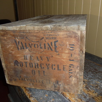 Antique Valvoline heavy Motorcycle oil- 1902 / 1909 - Petroliana
