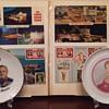 Vintage Monaco plates & postcards