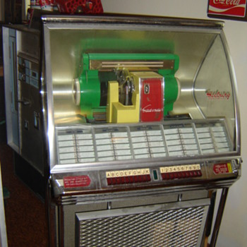 1950's Seeburg Jukebox - Coin Operated