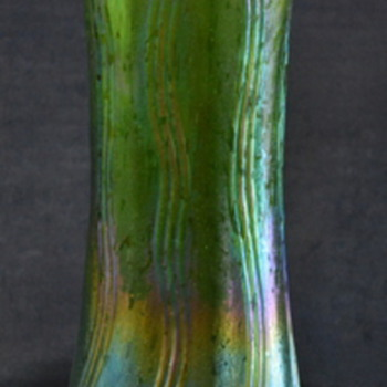 Art Nouveau Vase - Art Glass
