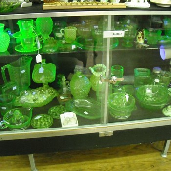 Our Vaseline Glass Collection - Glassware