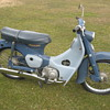 1964 Honda CA100 C100 Cub 50 push-rod engine