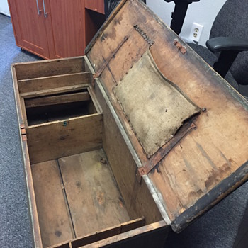Early New England Sea Chest - Furniture