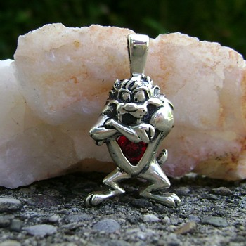 Tasmanian Devil Pendant - Fine Jewelry