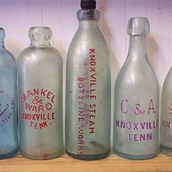 EX-RARE KNOXVILLE SODAS . - Bottles