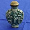 Snuff bottle in blue