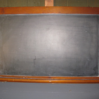Old School Blackboard - But How Old??? - Office
