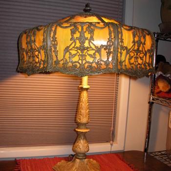 Need Info on How to Refurbish Slag Glass Table Lamp