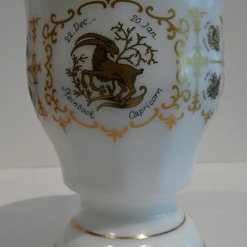 Milk Glass Mystery Beaker - Glassware