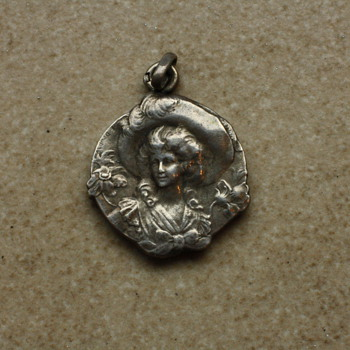 Small silver pendant 'Solange' - Fine Jewelry