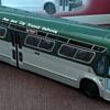 "Mid-1960s GM ""Fishbowl"" New York City Transit Authority Bus Model"